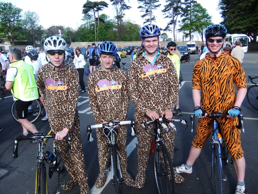 100 Mile Cycle 2012 Onsies